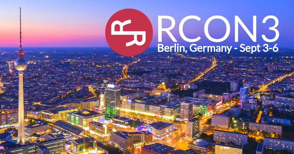 RChain presents: RCon3 blockchain conference in Berlin