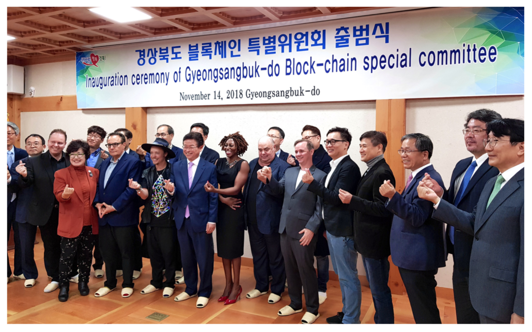 RChain Asia constructs a new blockchain ecosystem with Korea's Kyungsangbuk-do