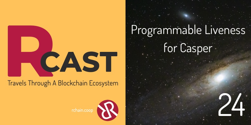 RCast 24: Programmable Liveness for Casper