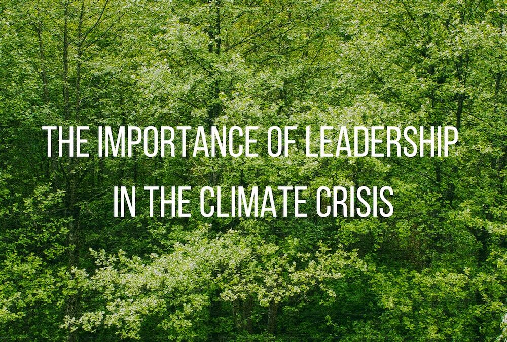 The Importance of Leadership in the Climate Crisis