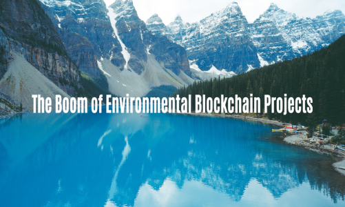 The Boom of Environmental Blockchain Projects