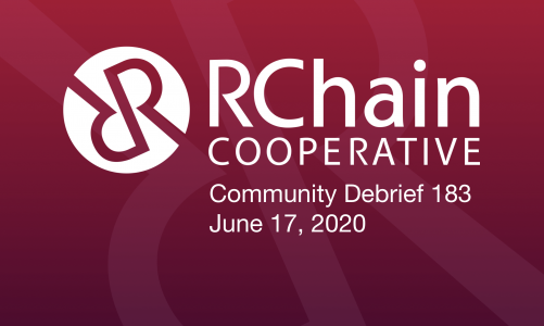 RCHAIN COMMUNITY DEBRIEF 183 Jun 17 2020
