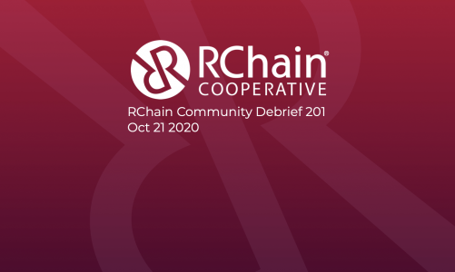 RChain Community Debrief 201 Oct 21 2020 – Live voting on RChain's MainNet!