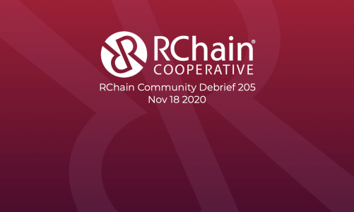 205 RChain Community Debrief  Nov 18 2020 – Digital Accreditation Wallet
