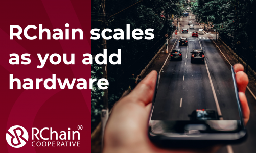 RChain scales as you add hardware