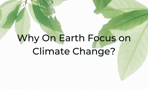 Why On Earth Focus on Climate Change?